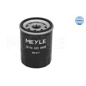 Oil Filter 30-14 322 0009 RAV 4 II (CLA2_, XA2_, ZCA2_, ACA2_) 2.0 4WD (ACA21, ACA20) MY 2005