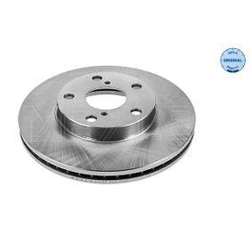 Brake Disc 30-15 521 0067 RAV 4 II (CLA2_, XA2_, ZCA2_, ACA2_) 2.4 4WD MY 2005