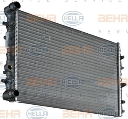 Wasserkühler 8MK 376 717-701 HELLA 8MK 376 717-701 in Original Qualität