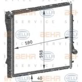 Kühler, Motorkühlung 8MK 376 718-754 X5 (E53) 3.0 d Bj 2004
