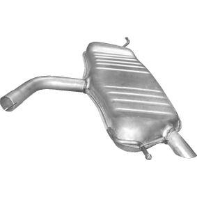Golf 5 1.6FSI Endschalldämpfer POLMO 30.616 (1.6FSI Benzin 2004 BLP)