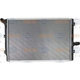 Kühler, Motorkühlung mit OEM-Nummer 1K0121251EH