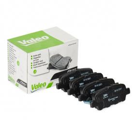 Nissan Juke f15 1.2 DIG-T Bremsbeläge VALEO 301148 (1.2 DIG-T Benzin 2019 HRA2DDT)