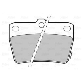 Brake Pad Set, disc brake 301673 RAV 4 II (CLA2_, XA2_, ZCA2_, ACA2_) 2.0 D 4WD (CLA20_, CLA21_) MY 2002