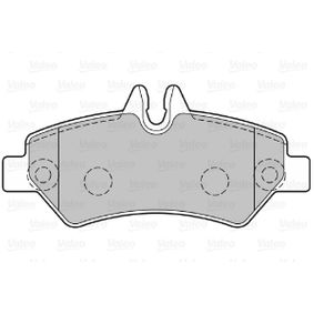 Bremsbelagsatz, Scheibenbremse Breite 1: 137mm, Höhe 1: 63,1mm, Dicke/Stärke 1: 19,8mm mit OEM-Nummer 2 E06 984 51