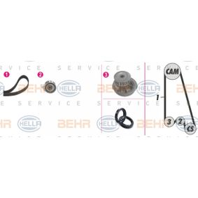 Wasserpumpe + Zahnriemensatz Breite: 17mm mit OEM-Nummer 90410223