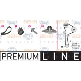Water pump and timing belt kit with OEM Number 8200 367 922