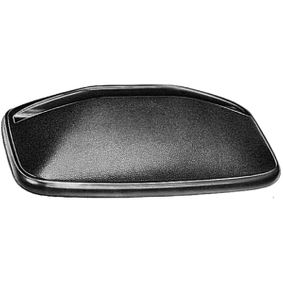 HELLA Side view mirror Left, Right, Aspherical, Heatable, with fastening material, Black