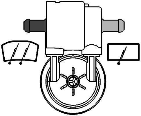 Washer Pump HELLA 8TW 005 206-031 rating