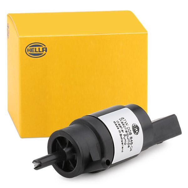Windscreen Washer Pump HELLA 8TW006848-041 expert knowledge