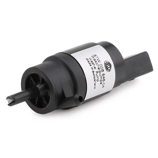 Windscreen Washer Pump HELLA 8TW 006 848-041 4082300150650