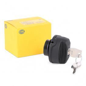 Kraftstoffbehälter und Tankverschluss VW PASSAT Variant (3B6) 1.9 TDI 130 PS ab 11.2000 HELLA Verschluß, Kraftstoffbehälter (8XY 004 729-001) für