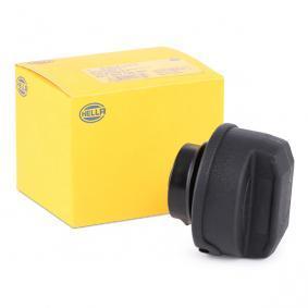 Kraftstoffbehälter und Tankverschluss VW PASSAT Variant (3B6) 1.9 TDI 130 PS ab 11.2000 HELLA Verschluß, Kraftstoffbehälter (8XY 004 729-101) für