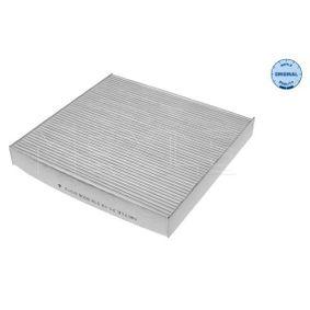 Filter, Innenraumluft Länge: 235,5mm, Breite: 224mm, Höhe: 30mm mit OEM-Nummer 80292-SDA-A01