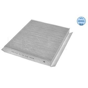 Filter, interior air 31-12 319 0009 CIVIC 8 Hatchback (FN, FK) 1.4 (FK1) MY 2006