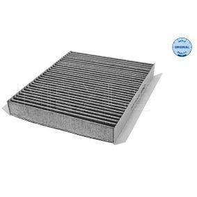 MEYLE  31-12 320 0009 Filter, interior air Length: 240mm, Width: 200mm, Height: 30mm
