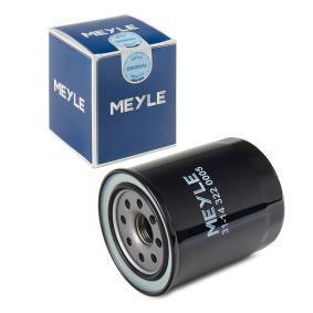 Oil Filter Ø: 80mm, Height: 100mm with OEM Number 15400-PR3-406