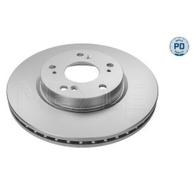 Brake Disc Brake Disc Thickness: 23mm, Num. of holes: 5, Ø: 282mm with OEM Number 45251-SMG-E30