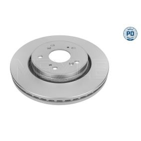 Brake Disc Brake Disc Thickness: 28mm, Num. of holes: 5, Ø: 293mm with OEM Number 45251-SWW-G01