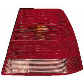 Heckleuchte glasklar, rot mit OEM-Nummer 1J5 945 096 AB