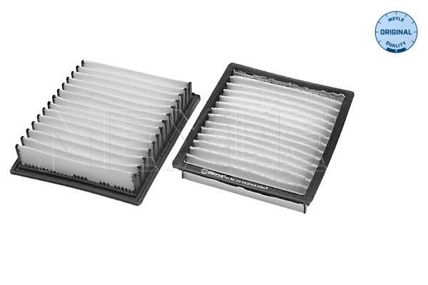 MEYLE  312 319 0016/S Filtro, aire habitáculo Long.: 148mm, Ancho: 123mm, Altura: 25mm