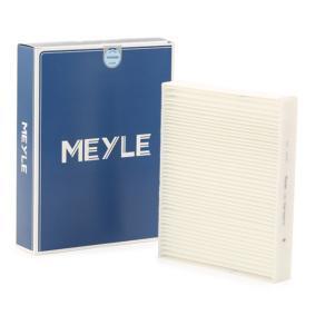 MEYLE  312 319 0021 Filter, Innenraumluft Länge: 247mm, Breite: 199mm, Höhe: 40mm