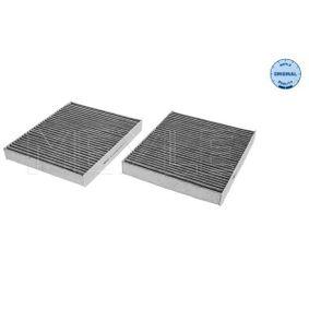 MEYLE  312 320 0008/S Filter, Innenraumluft Länge: 247mm, Breite: 207mm, Höhe: 27mm