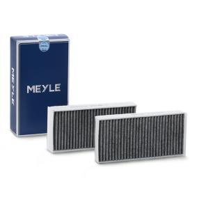 MEYLE  312 320 0025/S Filter, Innenraumluft Länge: 233mm, Breite: 115mm, Höhe: 33mm