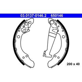Bremsbackensatz Trommel-Ø: 200, Breite: 40mm mit OEM-Nummer 443609525X