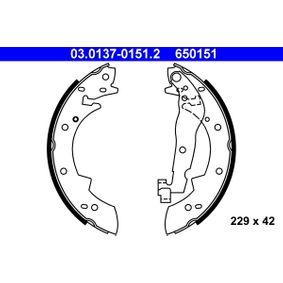Bremsbackensatz Art. Nr. 03.0137-0151.2 120,00€