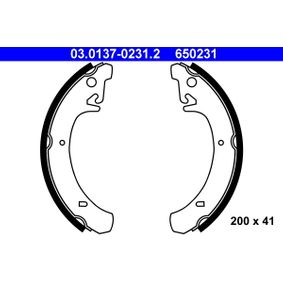 Bremsbackensatz Breite: 41mm mit OEM-Nummer 650 231