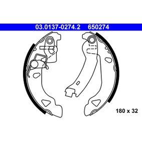Bremsbackensatz Trommel-Ø: 180, Breite: 32mm mit OEM-Nummer 71738378
