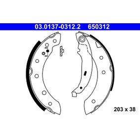 Bremsbackensatz Breite: 38mm mit OEM-Nummer 4241.J1