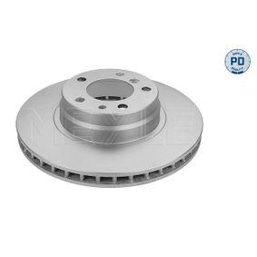 Bremsscheibe Bremsscheibendicke: 28mm, Lochanzahl: 5, Ø: 316mm mit OEM-Nummer 3411 1 162 093