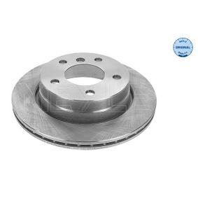 Bremsscheibe Bremsscheibendicke: 19mm, Lochanzahl: 5, Ø: 276mm mit OEM-Nummer 3421 6 855 155