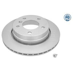 Bremsscheibe Bremsscheibendicke: 19mm, Lochanzahl: 5, Ø: 276mm mit OEM-Nummer 3421 1 162 315