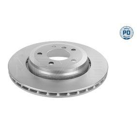 Bremsscheibe Bremsscheibendicke: 22mm, Lochanzahl: 5, Ø: 320mm mit OEM-Nummer 34 20 1 16 6073