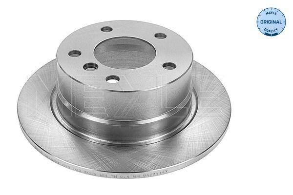MEYLE  315 523 0044 Bremsscheibe Bremsscheibendicke: 10mm, Lochanzahl: 5, Ø: 272mm