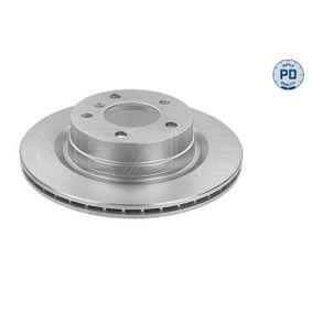 Bremsscheibe Bremsscheibendicke: 20mm, Lochanzahl: 5, Ø: 300mm mit OEM-Nummer 3421 6764 651