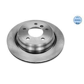 Bremsscheibe Bremsscheibendicke: 20mm, Lochanzahl: 5, Ø: 298mm mit OEM-Nummer 34211163153