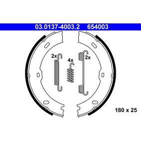 Bremsbackensatz, Feststellbremse Breite: 25mm mit OEM-Nummer A9064200320
