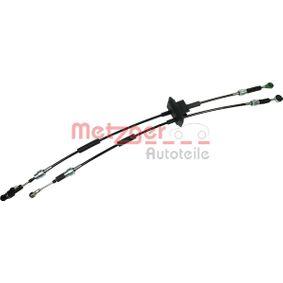 Cable, manual transmission 3150163 PANDA (169) 1.2 MY 2011