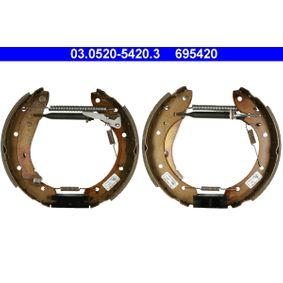 Bremsensatz, Trommelbremse mit OEM-Nummer 4241-7N