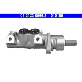 ATE Hauptbremszylinder 03.2123-0566.3 für AUDI 80 (8C, B4) 2.8 quattro ab Baujahr 09.1991, 174 PS