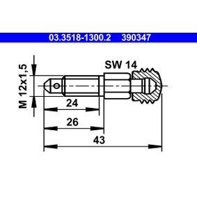 ATE  03.3518-1300.2 Entlüfterschraube / -ventil