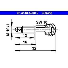 Entlüfterschraube / -ventil mit OEM-Nummer 000 420 35 55