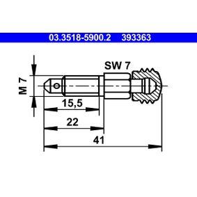 Entlüfterschraube / -ventil mit OEM-Nummer 311615273