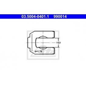 ATE  03.5004-0401.1 Halter, Bremsschlauch