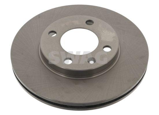 SWAG  32 90 8557 Bremsscheibe Bremsscheibendicke: 20mm, Ø: 239,0mm