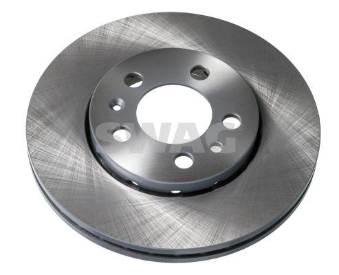 SWAG  32 91 4404 Bremsscheibe Bremsscheibendicke: 22mm, Ø: 256,0mm